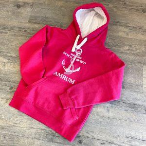 Amrum Hoodie pink - 69,95€