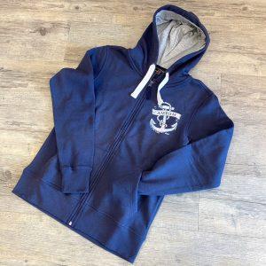 Amrum Sweatjacke dunkelblau - 79,95€