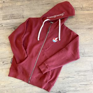 Inselkind Sweatjacke bordeaux - 129,95€