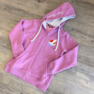 Inselkind Sweatjacke rosa melange - 129,95€